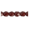 Fire Polished 6mm Red Alabaster
